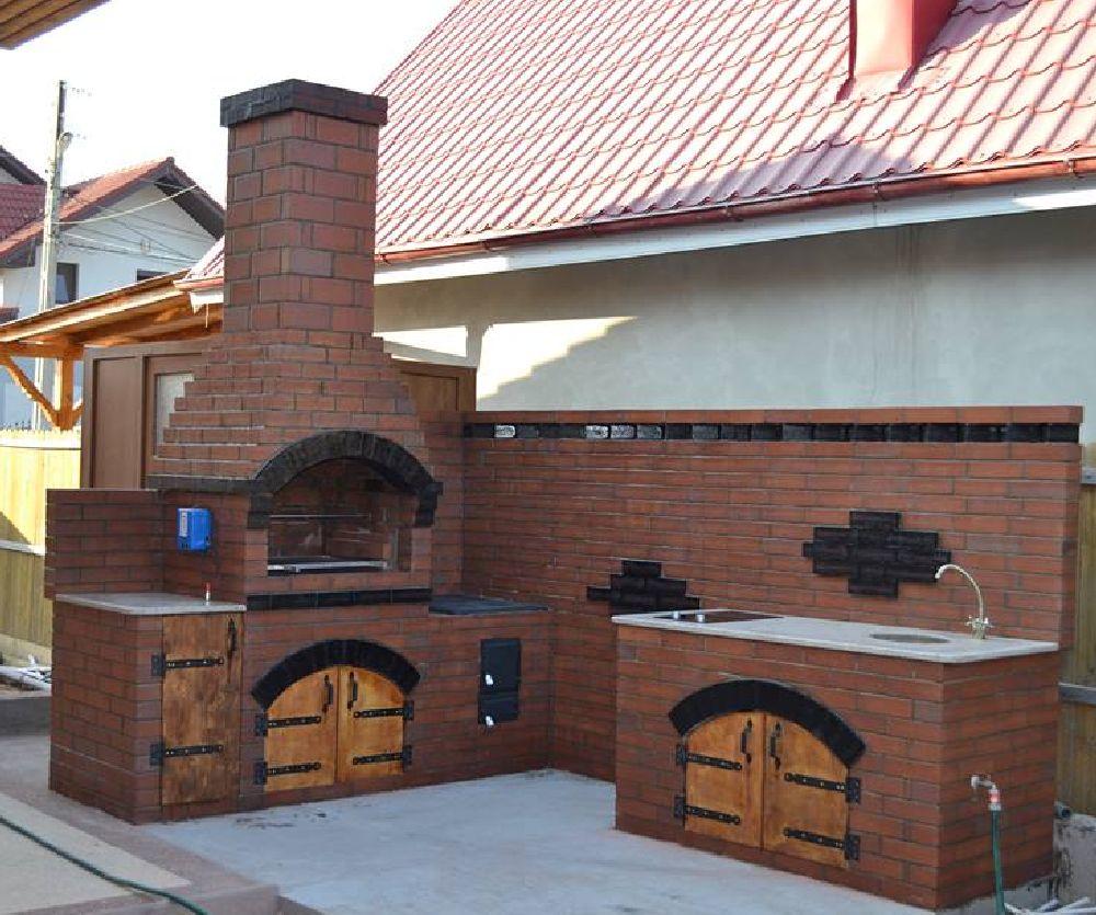 adelaparvu.com despre gratare zidite in gradina, design Gratarul Dragomir (2)