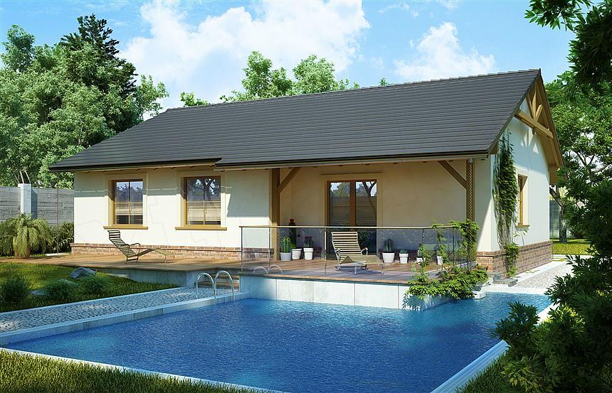 adelaparvu.com despre proiecte de case cu parter si parter si mandarda, Proiect extradom.pl Foto Extradom (10)