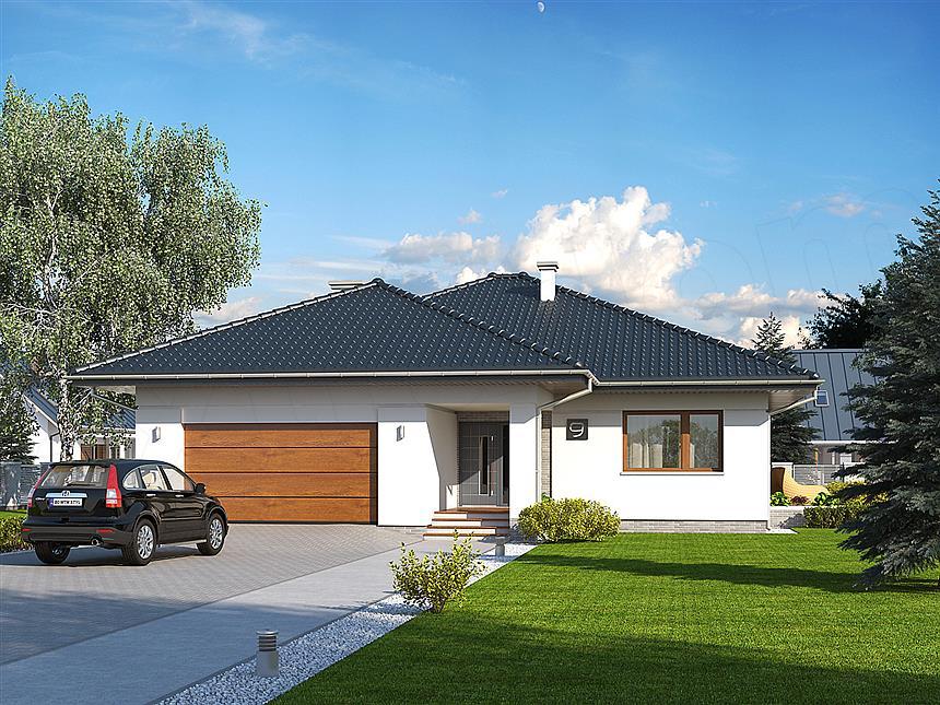 adelaparvu.com despre proiecte de case cu parter si parter si mandarda, Proiect extradom.pl Foto Extradom (8)