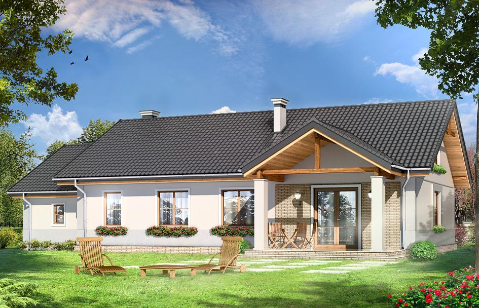 adelaparvu.com despre proiecte de case cu parter si parter si mandarda, Proiect mgprojekt.com.pl Foto mgproject (1)