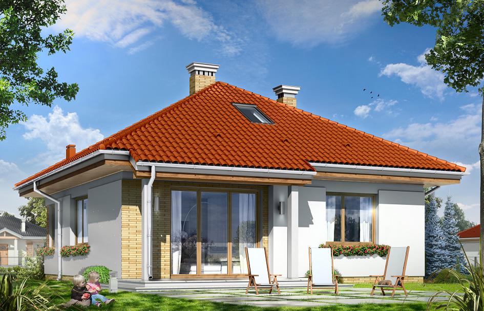 adelaparvu.com despre proiecte de case cu parter si parter si mandarda, Proiect mgprojekt.com.pl Foto mgproject (3)