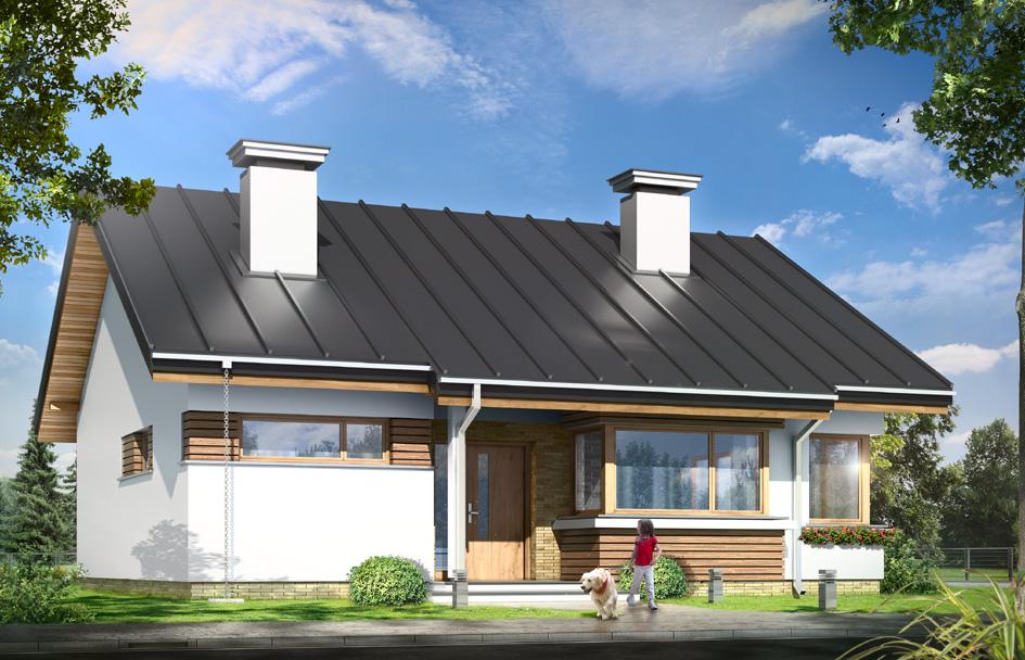 adelaparvu.com despre proiecte de case cu parter si parter si mandarda, Proiect mgprojekt.com.pl Foto mgproject (4)