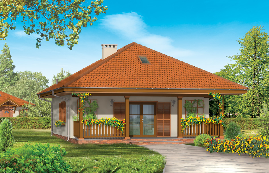 adelaparvu.com despre proiecte de case cu parter si parter si mandarda, Proiect mgprojekt.com.plFoto MGProject (4)