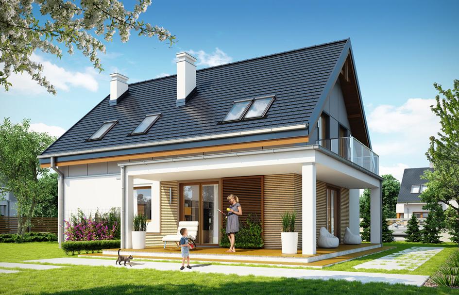 adelaparvu.com despre proiecte de case cu parter si parter si mandarda, Proiect mgprojekt.com.plFoto MGProject (8)