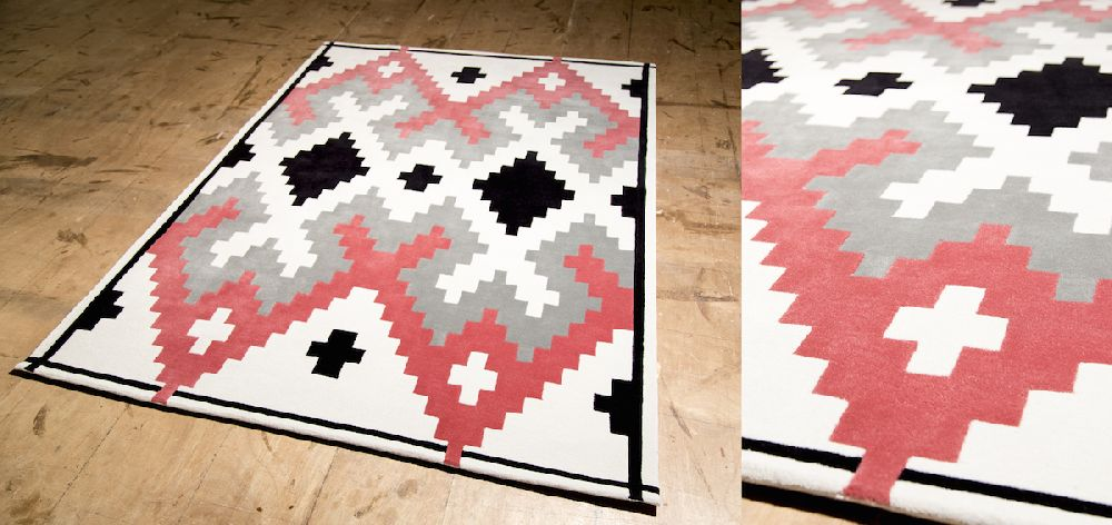 adelaparvu.com despre covoare de lana, designeri Andreea Batros si Flavia Scinteanu, Dare to Rug, model Mellow