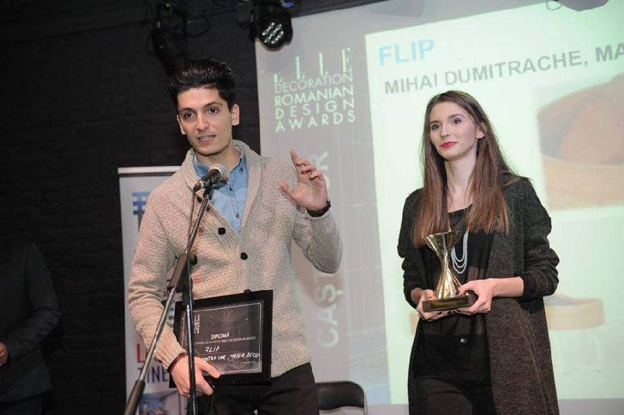 adelaparvu.com despre premiile Elle Decoration 2015, Maria Decu si Mihai Dumitrache