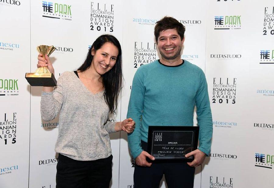 adelaparvu.com despre premiile Elle Decoration 2015, arhitectii de la biroul Mana de Lucru
