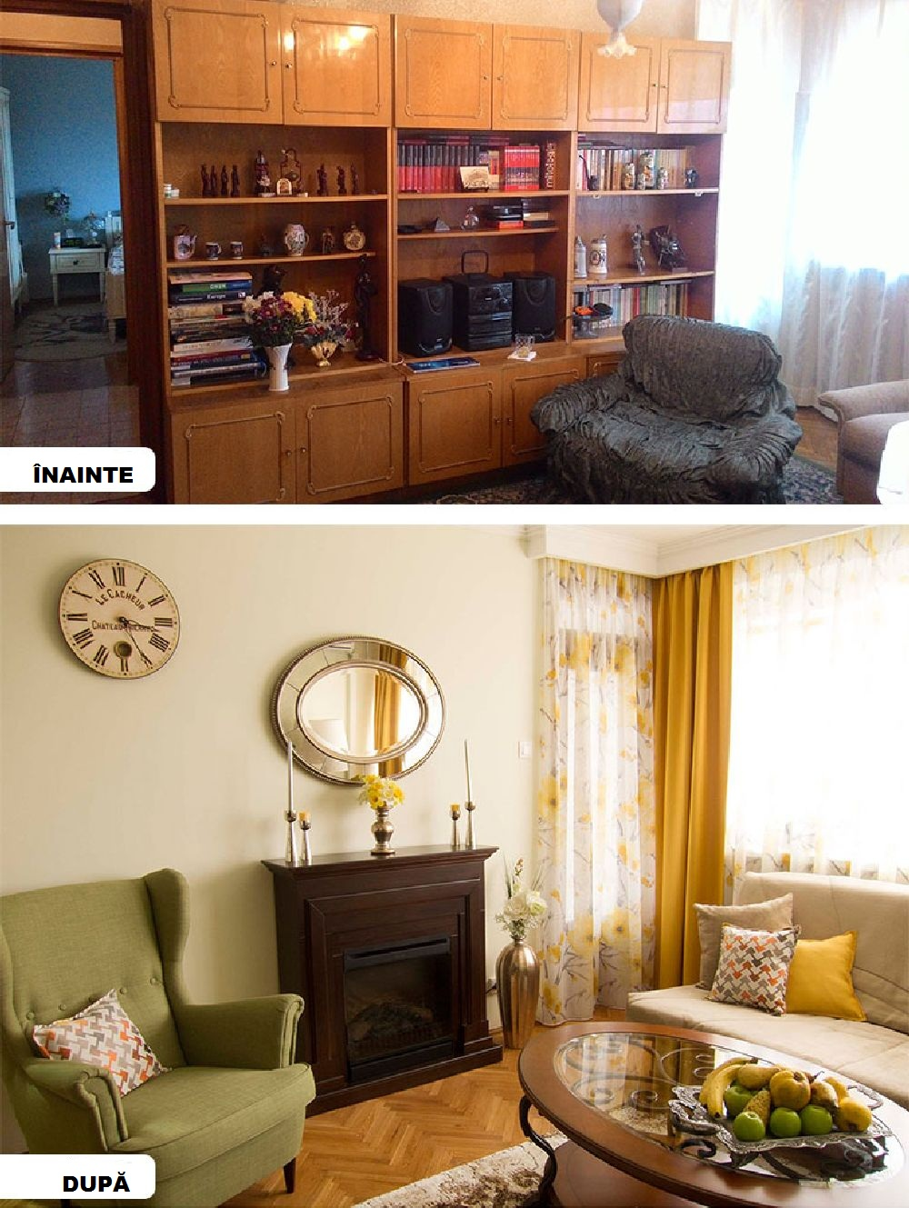 adelaparvu.com despre reamenajare apartament 3 camere Bucuresti, designer Adriana Croveanu (29)