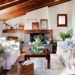 adelaparvu.com despre casa mica de vacanta la munte, design interior proprietara Victoria Villa, Foto ElMueble (10)