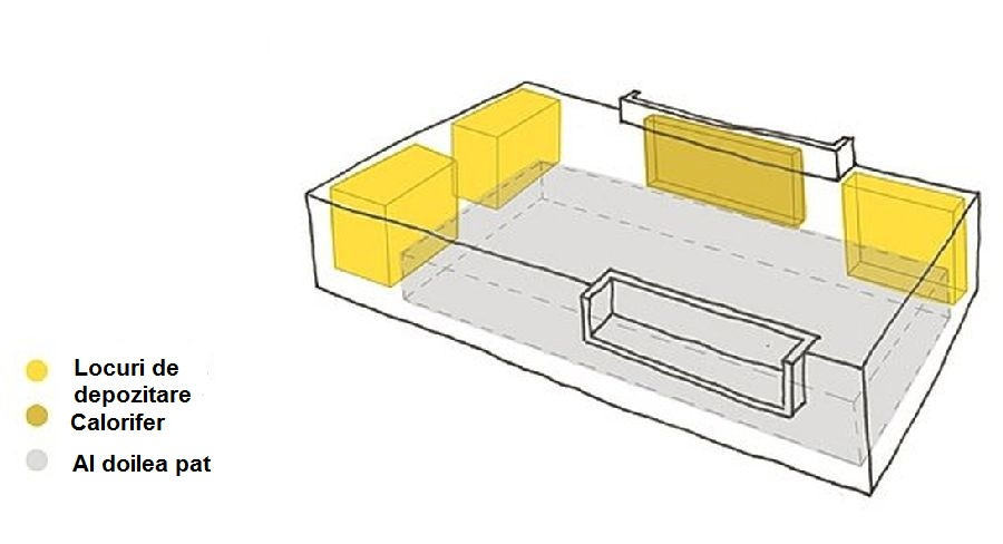 adelaparvu.com despre apartament 41 mp cu doua paturi matrimoniale, design interior arh Daria Pietryka (14)