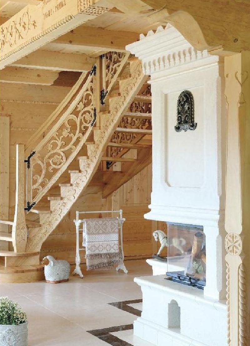 adelaparvu.com despre casa din lemn cu interior folcloric, casa Polonia, design interior Katarzyna Zachariasz-Rybak, k2 Studio (27)