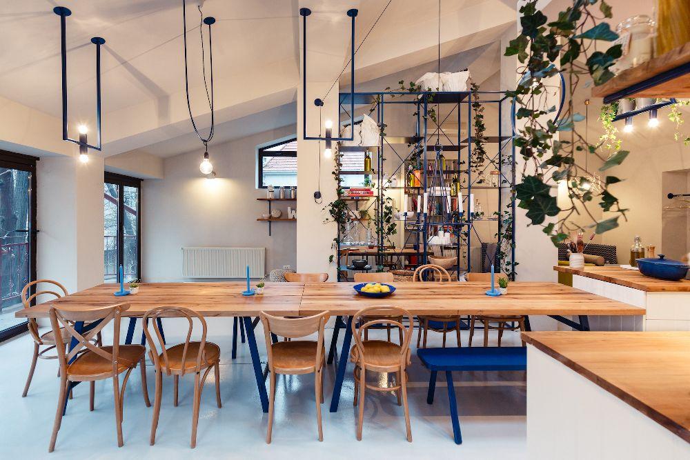 adelaparvu.com despre mansarda transformata in atelier culinar, Mazilique Studio, design arh. Eliza Yokina, Foto Catalin Georgescu (7)