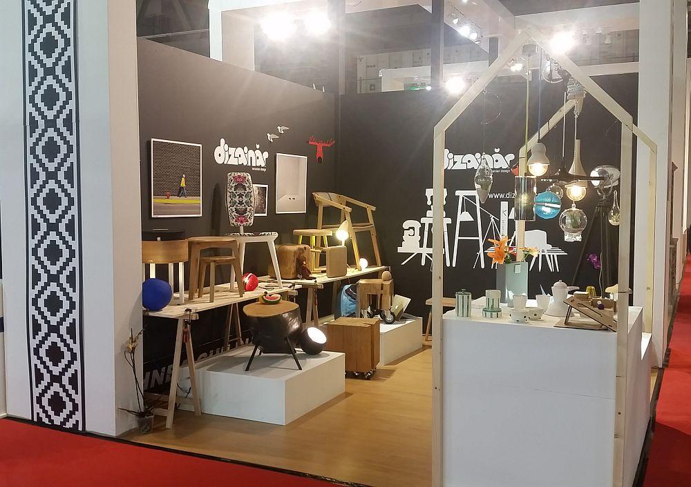 adelaparvu.com despre firme romanesti de mobila la Salone del Mobile Milano 2016, stand Dizainar (2)