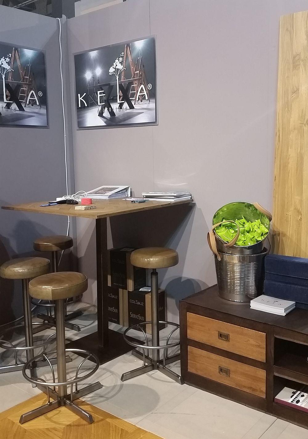 adelaparvu.com despre firme romanesti de mobila la Salone del Mobile Milano 2016, stand Kela (5)