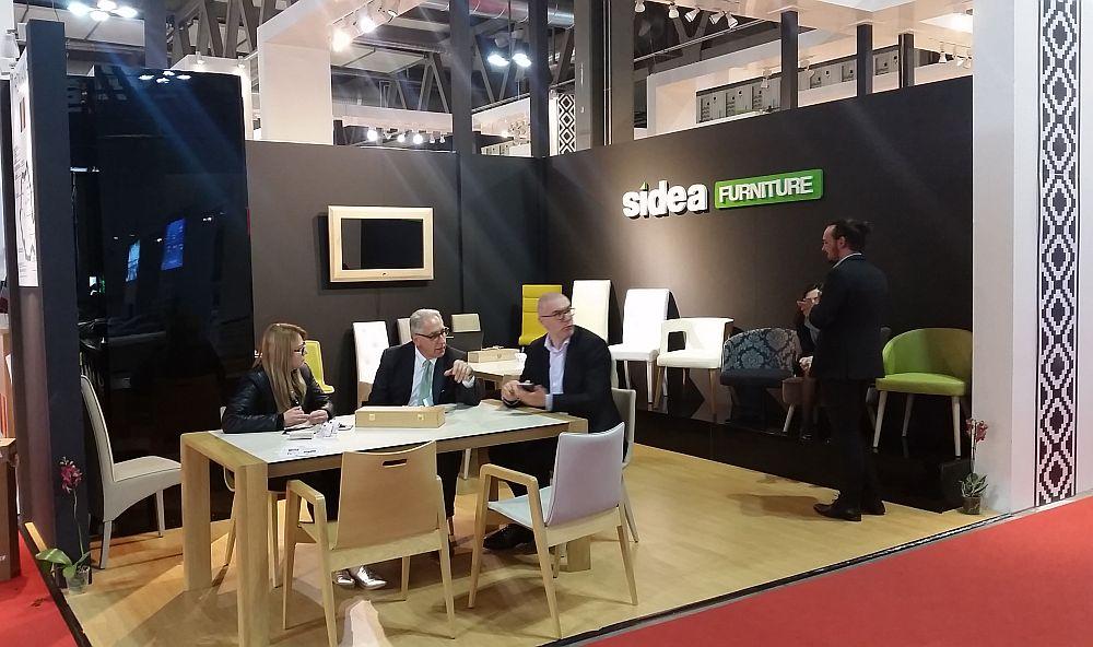 adelaparvu.com despre firme romanesti de mobila la Salone del Mobile Milano 2016, stand Sidea