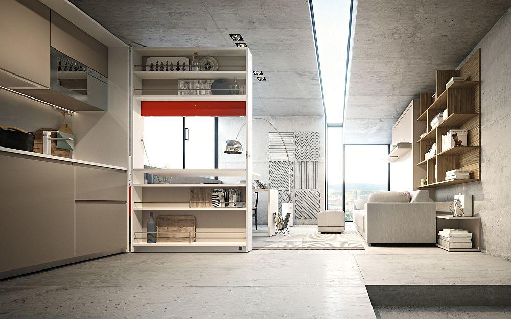 adelaparvu.com despre noutati Salone del Mobile 2016, CLEI Kitchen Box Plus, Giro, Oslo divano (1)