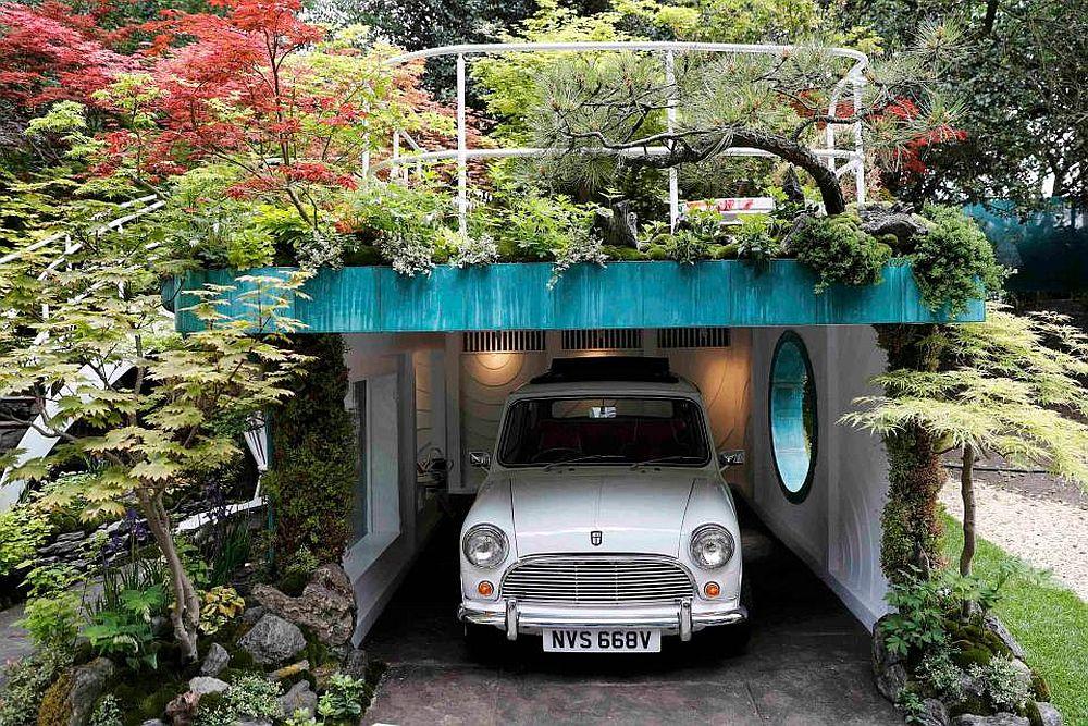adelaparvu.com despre Garage Garden, Senri Sensei Garden, peisagist Kazuyuki Ishihara, Foto Reuters (4)