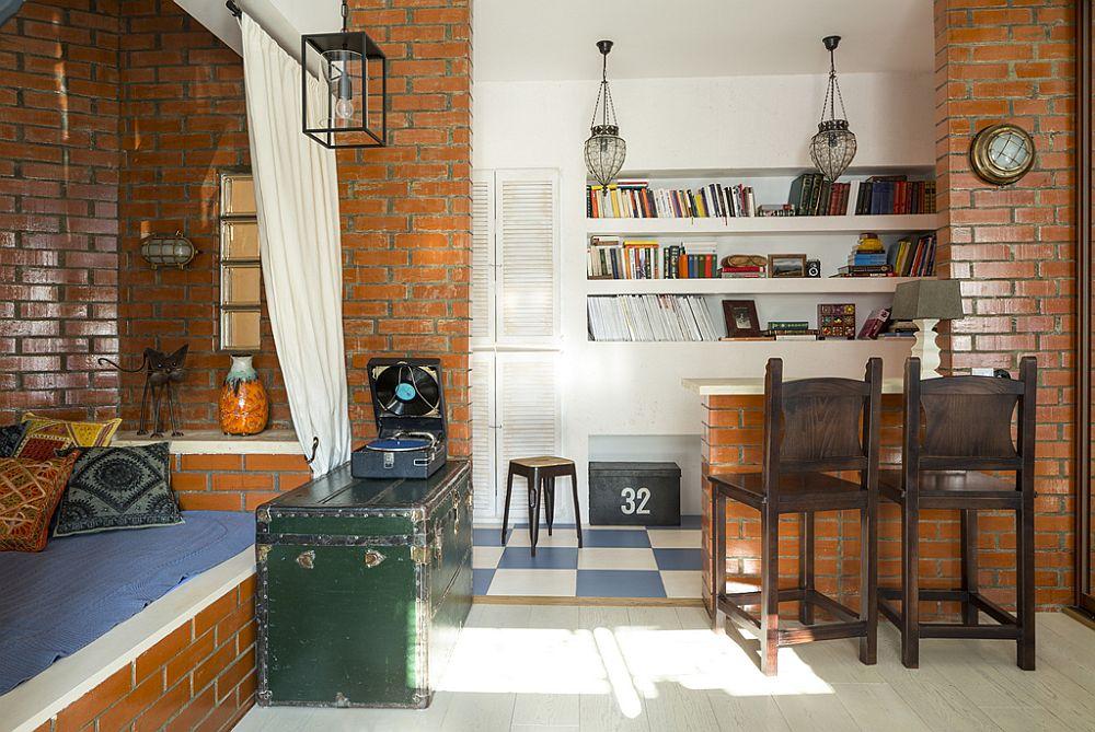 adelaparvu.com despre locuinta creativa Moscova, 82 mp, design lenka.design, designer Elena Fateeva (10)