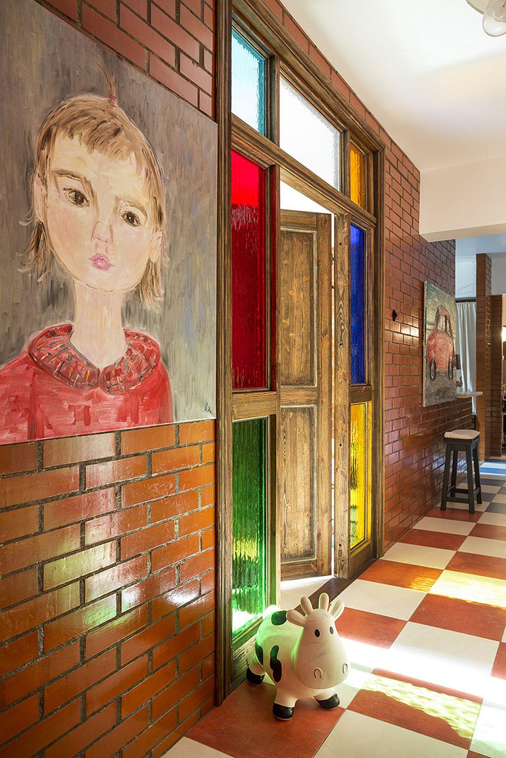 adelaparvu.com despre locuinta creativa Moscova, 82 mp, design lenka.design, designer Elena Fateeva (13)