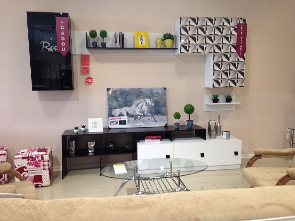 adelaparvu.com despre mobila din PAL imprimata digital la Casa Rusu, model bibliteca Joy (1)
