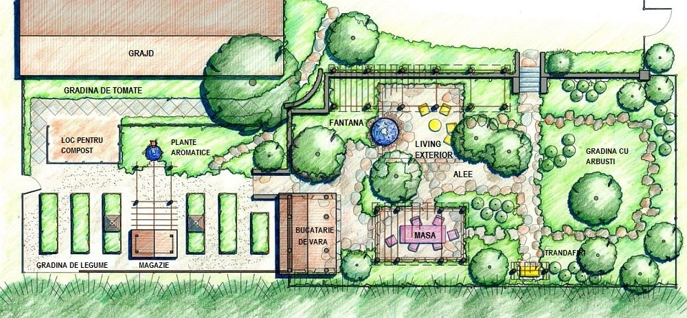 adelaparvu.com despre gradina rustica, Orchard Farm, design Clinton and Associates Landscape Architects, Foto Roger Foley (6)