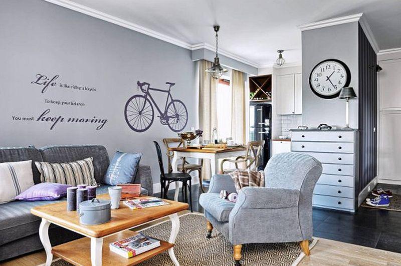 adelaparvu.com despre apartament 2 camere, 61 mp, Varsovia , Foto Mariusz Putna (3)