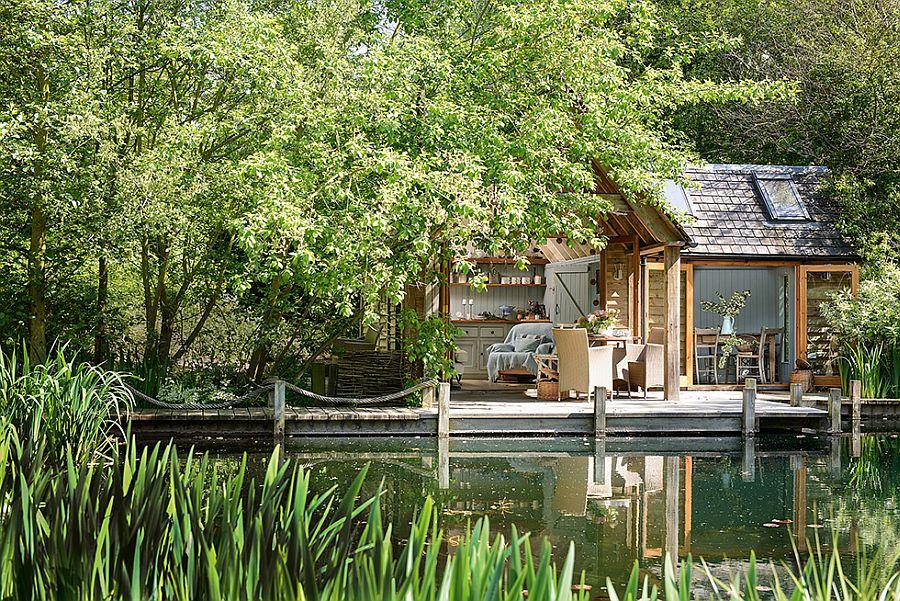 adelaparvu.com despre casuta de vacanta, casa de vara, designer Linda Kilburn , Foto Period Living, Colin Poole (5)