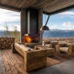 adelaparvu.com despre casa de vacanta montana in Wyoming, design Pearson Design Group (25)
