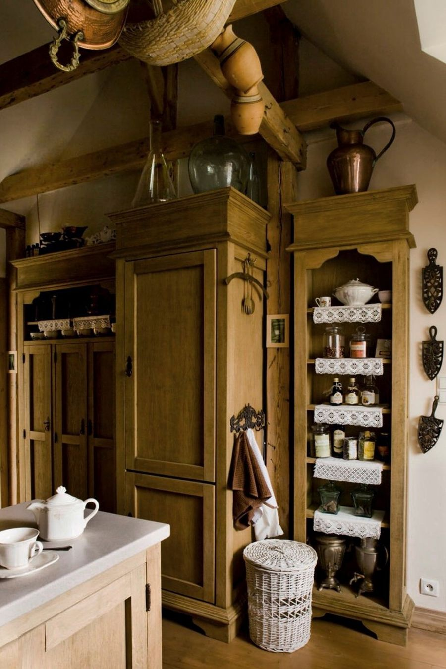 adelaparvu.com despre mansarda romantica, stil rustic, Design PrzepisnaDom, Foto Rafal Lipski (5)