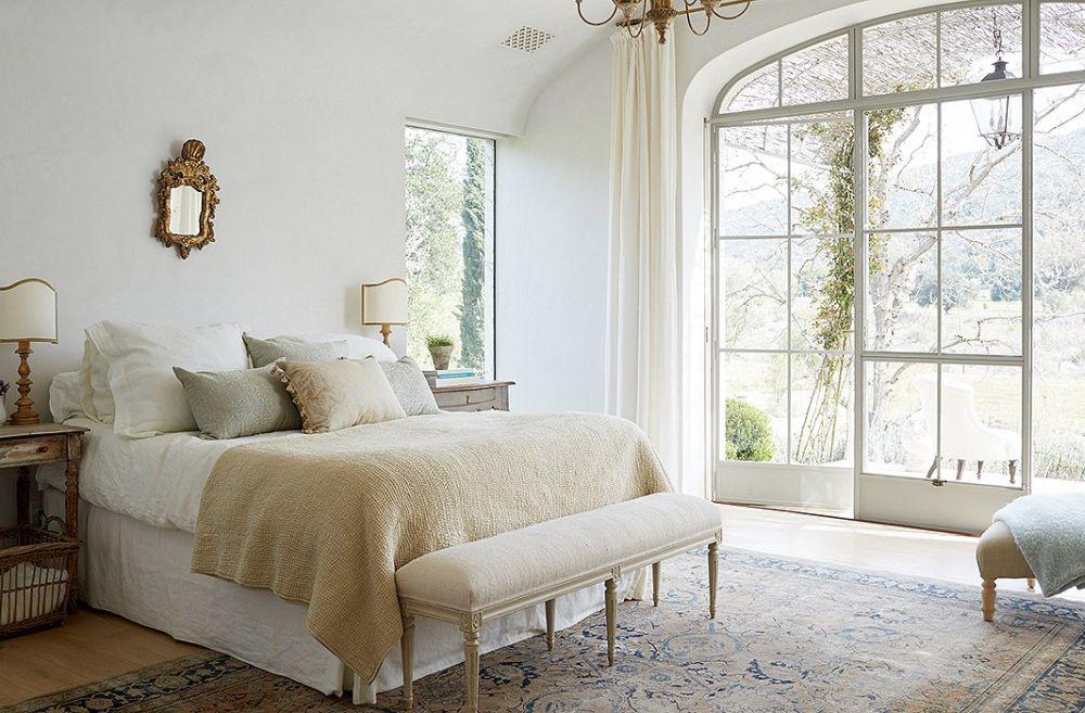 adelaparvu.com despre Patina Farm, California, dormitor matrimonial, arhitectura si design Giannetti Home (5)