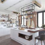 adelaparvu.com despre apartament in stil industrial, Moscova, designer Yevgeniya Razuvayeva, 9design, Foto Dean Alexandrov (16)