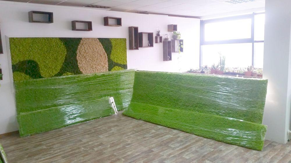 adelaparvu.com despre tablouri cu plante stabilizate, design Arta Gradinilor, Bucuresti (16)