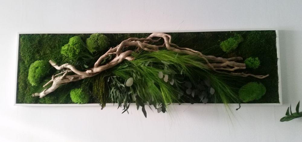 adelaparvu.com despre tablouri cu plante stabilizate, design Arta Gradinilor, Bucuresti (5)