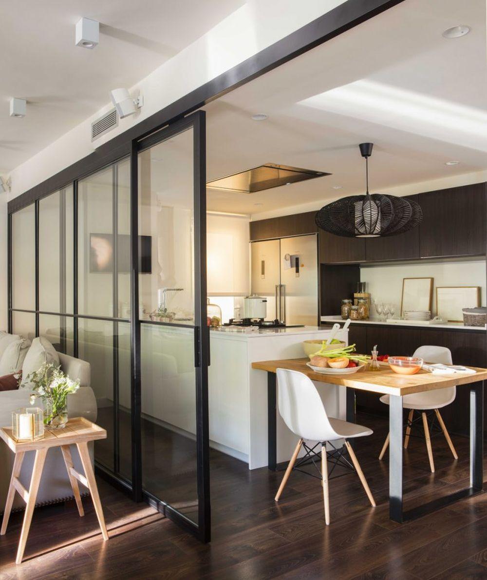 adelaparvu.com despre apartament cu stiluri combinate, 140 mp, Barcelona, Design Vivestudio, Foto Fernando Bedon, El Mueble (12)