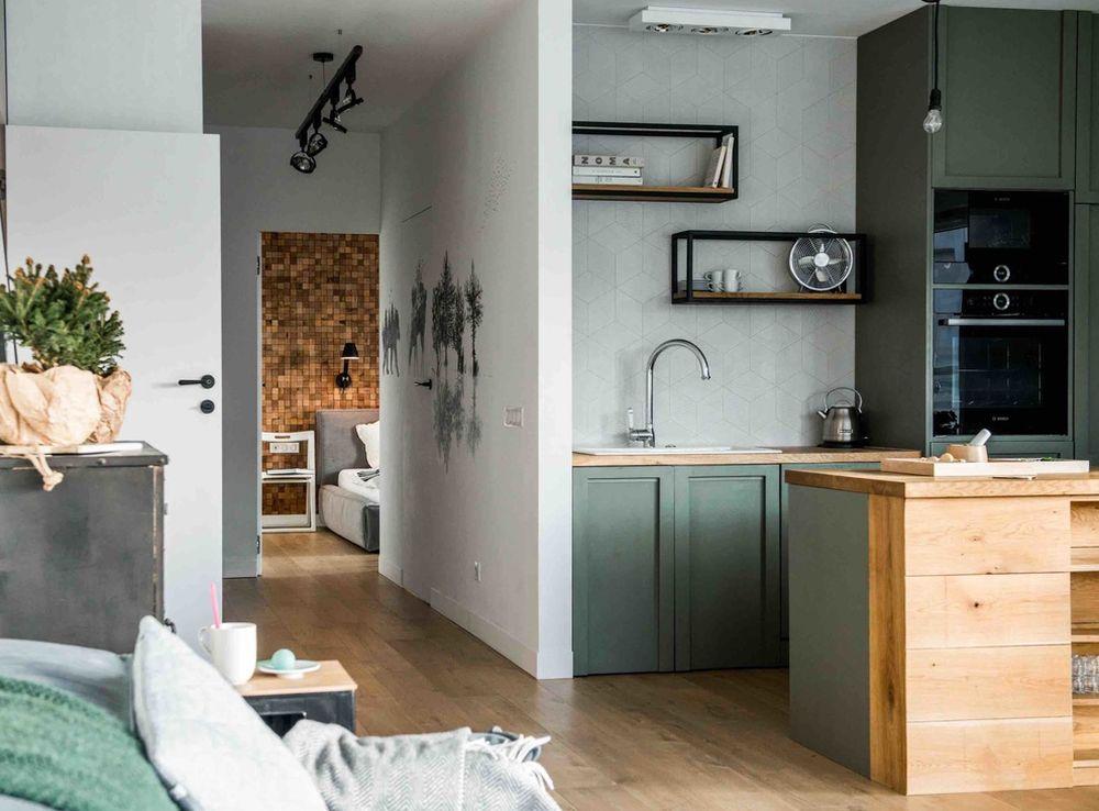 adelaparvu.com despre apartament de 2 camere in stil scandinav, Polonia, Design Shoko Studio (14)