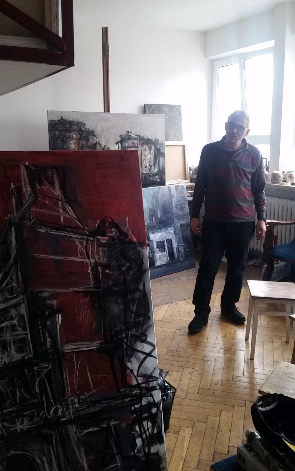 adelaparvu.com despre atelierul pictorului Eugen Raportoru, test SeeColors Samsung (10)