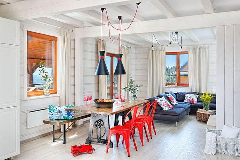 adelaparvu.com despre casa de lemn pentru weekend, Muntii Tatra, Polonia, design AlexDesign (18)