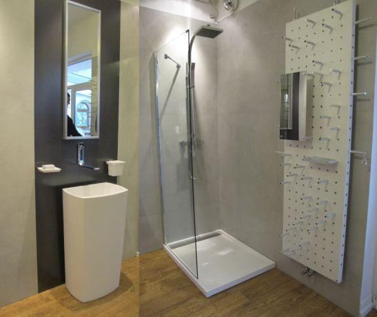 Propunere de baie moderna si model radiator de design de la Dream Home Design