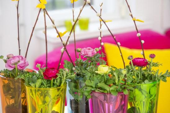 Ranunculus folosita mai ales pentru buchetele de mirese, se regaseste acum si in trendurile plantelor ornamentale pentru acasa