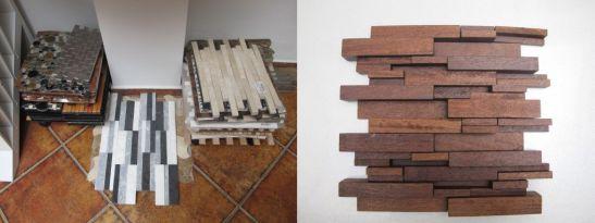 Tipuri de placari decorative si placi in relief din lemn masiv de la Dream Home Design