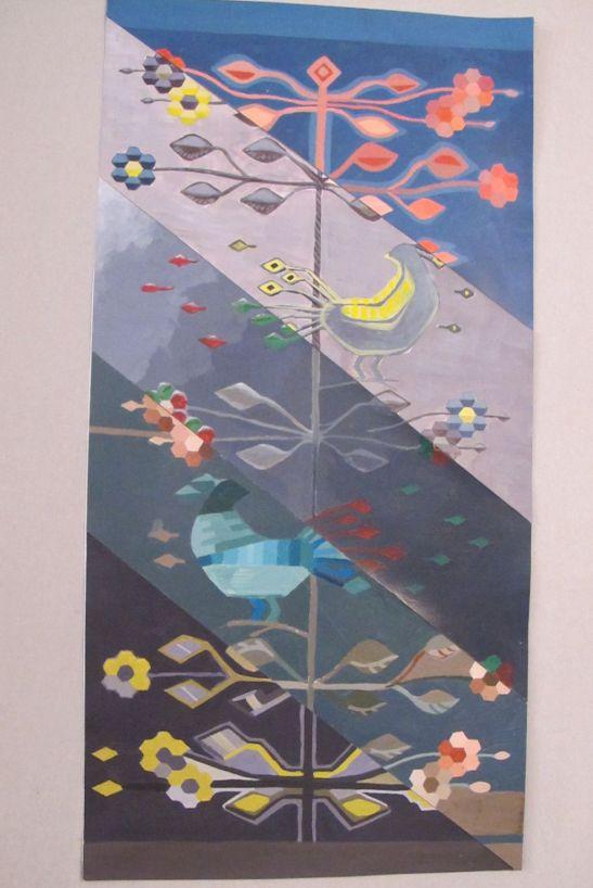 Lucrare de grup contraste cromatice expusa la Galeria UNArte