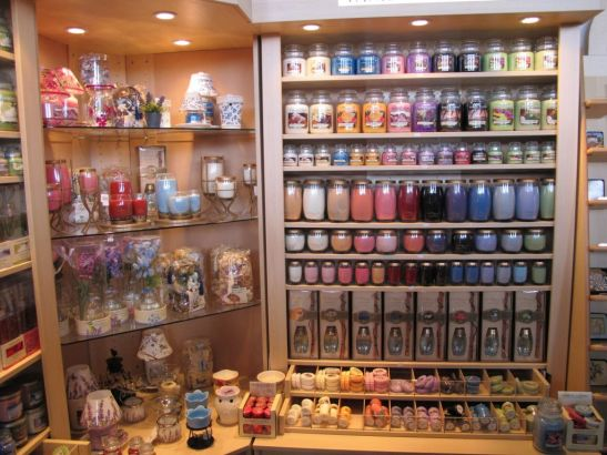 Lumanari parfumate, sapunuri si lampi aromoterapeutice de la Yankee Land