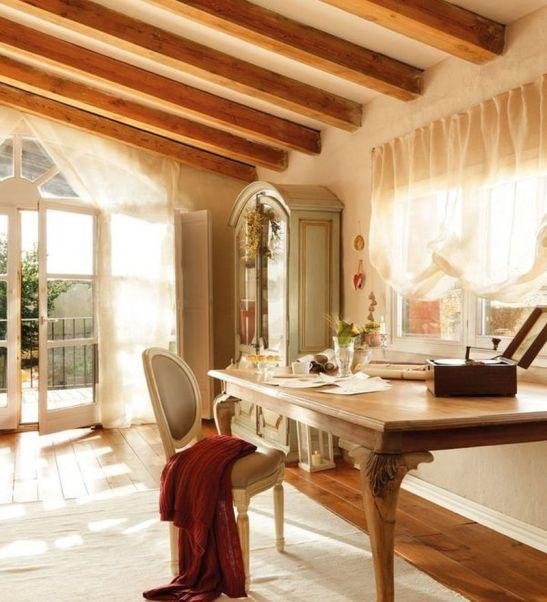 adelaparvu.com despre cum poti combina rustic si shabby chic Foto El Mueble (5)