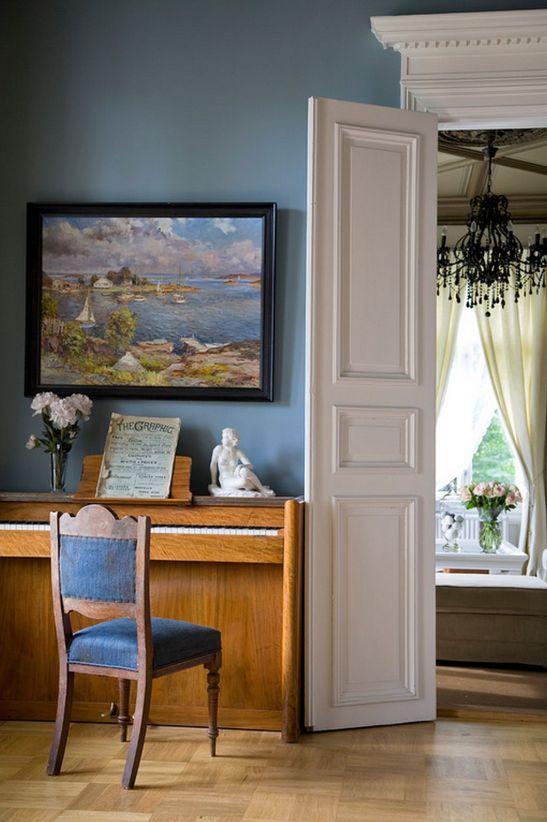 adelaparvu.com despre interior elegant chalet elvetian designer  Anne Cecilie Ranke (8)