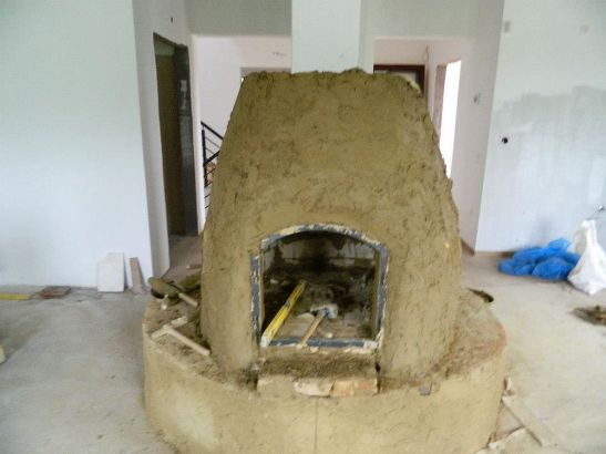 Etapa intermediara in constructia sobei lui Lorand
