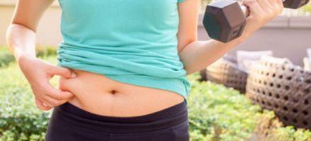 Sigue una dieta para bajar la grasa del abdomen y recortar tu cintura