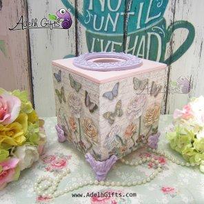 cocktail tissue ungu pink