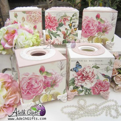 michel works tissue box banyak