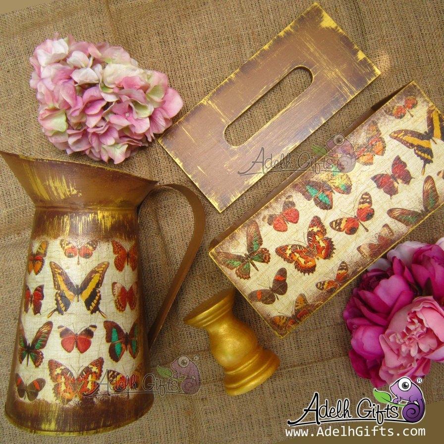 butterfly set foto cantik