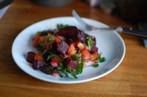 Salata sfecla si rosii